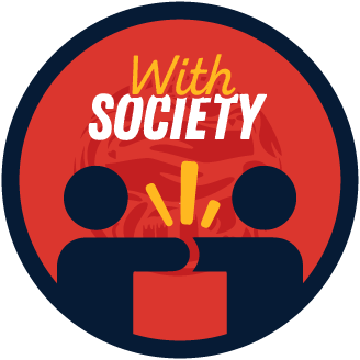 Collaborated with a Society badge