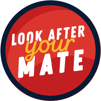 Completed Look After Your Mate Training badge